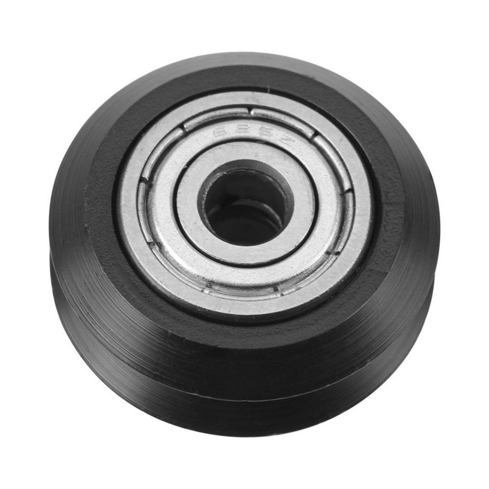 Ruiqas 20pcs V-Shape Groove Wheel 5mm Bore 625 Bearing Pulley Accessories for CNC 3D Printer