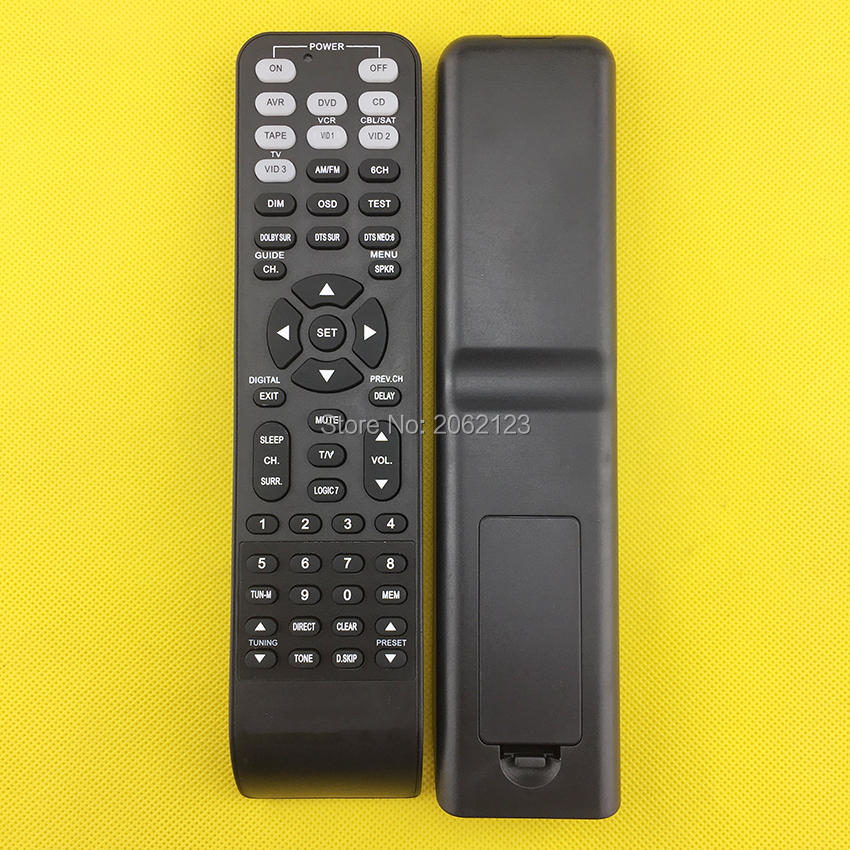 Replacement remote control for the Harman Kardon AVR1710 AVR1710S