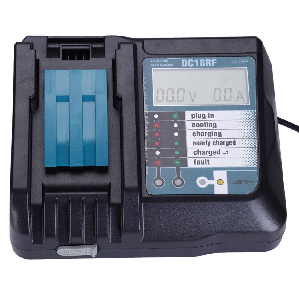 Melasta 120V230V Li ion Battery Charger For Bosch 18V 14.4V