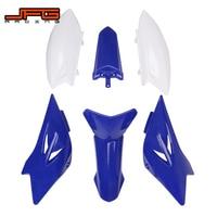 Motorcycle Plastic Front Rear Fender Tank Shrouds Side Number Plates For YAMAHA TTR50 TTR 50 Dirt Bike Motocross