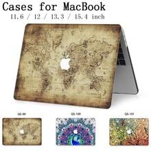สำหรับโน๊ตบุ๊ค MacBook แล็ปท็อปสำหรับ Macbook Air Pro Retina 11 12 13.3 15.4 นิ้วป้องกันหน้าจอคีย์บอร์ด Cove