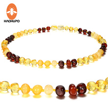 Hao Hu Po  Classic Baltic Amber Supply Certificate Authenticity Teething Necklace for Baby/Adult Jewelry Gifts GIC