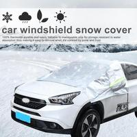 VODOOL Universele Auto SUV Voorruit Zonnescherm Cover Sneeuw Ijs Shield Geblokkeerd Voorruit Voorruit Zonnescherm Covers Protector