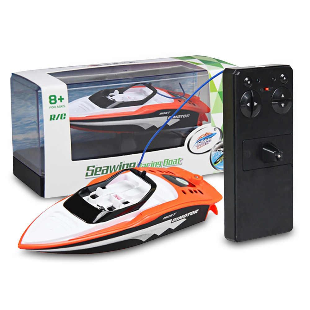 3392 М 2,4 ГГц перезаряжаемая Мини RC лодка электрическая Спортивная высокая скорость RC лодка лодки с дистанционным управлением для детей игрушки Детский подарок 2019