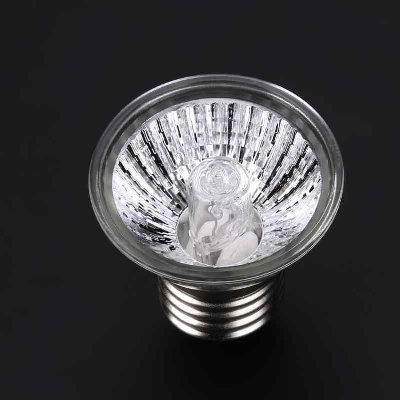 UVA + UVB светильники для рептилий полный спектр солнце ультрафиолетового для рептилий Лампы Отопление 25 Вт 50 Вт 75 вт для гигантская Pet питомнике