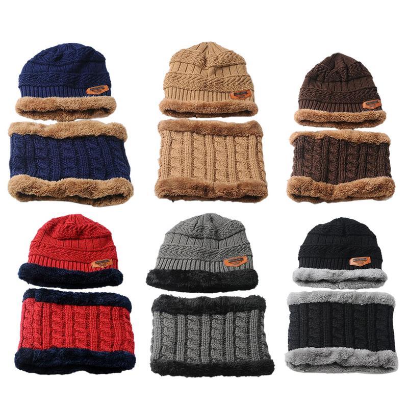 Flamingo Tree Unisex Winter Knitting Woolen Hat Warm Cap