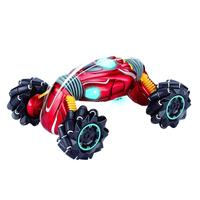 Remote Control Twisted Car Four Wheel Drive Climbing Stunt Car Light Music Electric Double sided Special Effects Toy Boy RC Gift