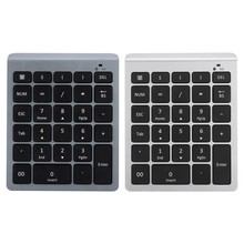 28 Kunci Mini Keypad Numerik 2.4G Wireless Mini Numpad Keypad Numerik Kecil Keyboard untuk Laptop dan Tablet(China)
