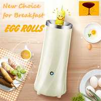 Kitchen Cooling Eggs Cooker Master Automatic Electric Mini Eggs Roll Maker Omelette Breakfast boiled Auto Cooking Appliances