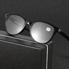 4c4cc633b2 KUJUNY hombres mujeres Tesin gafas de lectura de moda de plástico  irrompible hipermetropía gafas dioptrías +
