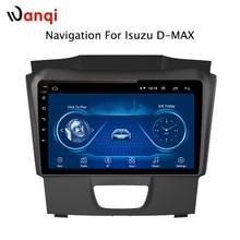 Автомобильный радиоприемник для Isuzu D-MAX DMAX 2015-2018 Android 8,1 HD 9 дюймов сенсорный экран gps навигации мультимедийный плеер