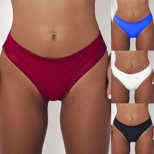 One-piece Women Plus Size Retro Solid Swimming Bottom Woman High Waist Bikini Sw