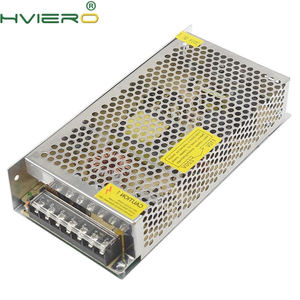 AC 110V-240V TO DC 12V 10A Driver Converter 12V LED Transformer Power Supply switching Adapter For 5050 3528 2835 Led Strip 500pcs uk eu le dc 12v 2a power supply adapter ac 100 240v to dc 12v transformers switching power supply for 12v 3528 5050