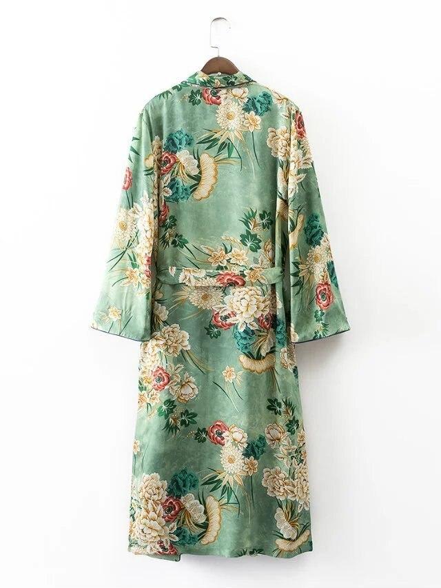 Imprimé Kimono Longue Blouse Longue Imprimé Blouse Chemisier Imprimé Kimono Chemisier Longue Kimono Blouse x6Afw0FqB