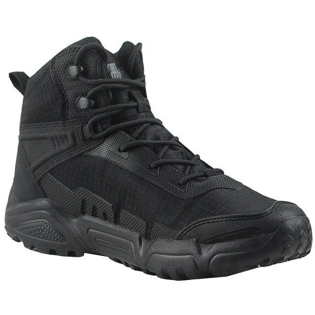 Ultralight Waterproof Men Women Training Shoes Army Fan Outdoor Hiking Sports Climbing Non-slip Breathable Desert Tactical Boots