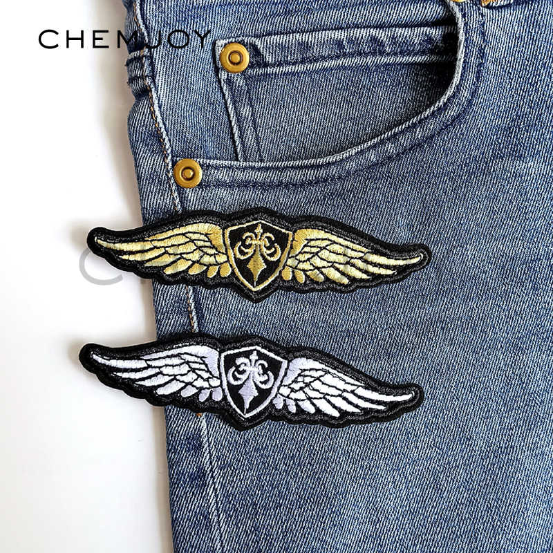 Military Wings Patch Army Tactical Clothing Iron-On Embroidery Patch  Clothes Sticker Badges Boy Applique 78193f0ff