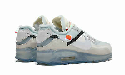 finest selection b1b94 12925 NIKE X OFF-WHITE AIR MAX 90 OW New Arrival Men Nike Shoes Air Cushion  Breathable Comfortable Running Sneakers#AA7293-100