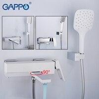 GAPPO смеситель для ванны настенный смеситель для ванной комнаты Смеситель для ванны Водопад ванна краны ванная латунь Смесители