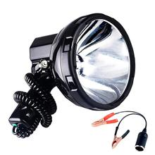 SOLLED yüksek güç Xenon lamba açık el avcılık balıkçılık devriye aracı H3 HID projektörler 220W fıtık spot