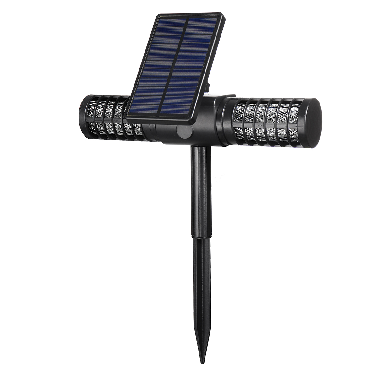 Automatic Solar Powered Waterproof UV LED Mosquito Zapper 1