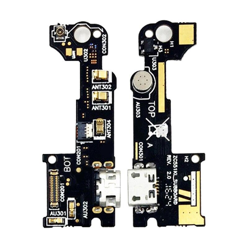 USB Charging Port Flex Cable For Asus Zenfone3 Charging Port USB Connector Flex Cable For Asus Zenfone3 Laser 5.5 ZC551KL Z018D