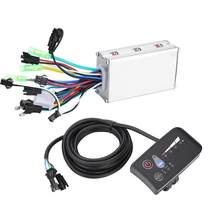 24V 36V 48V 250W/350W Electric Bicycle Controller Waterproof LED LCD Display 6 Tube Brushless Electric Bike E-bike Controller(China)