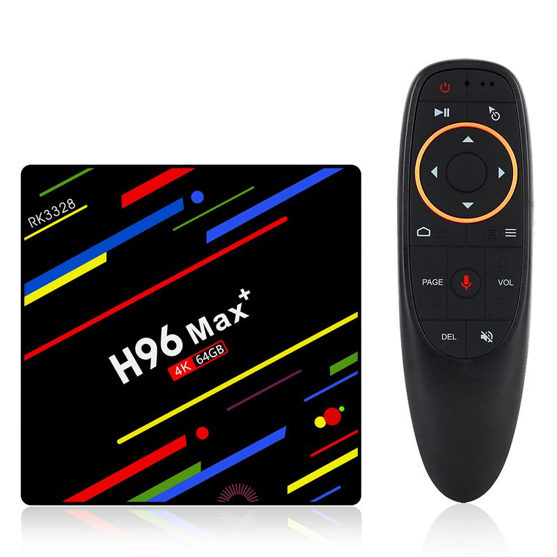 H96 Max Plus Android 8.1 Tv Box 4Gb Ram Set Top Box Rk3328 Quad Core 2.4G/5G Wifi 4K Smart Media Player H96 Pro MaxH96 Max Plus Android 8.1 Tv Box 4Gb Ram Set Top Box Rk3328 Quad Core 2.4G/5G Wifi 4K Smart Media Player H96 Pro Max