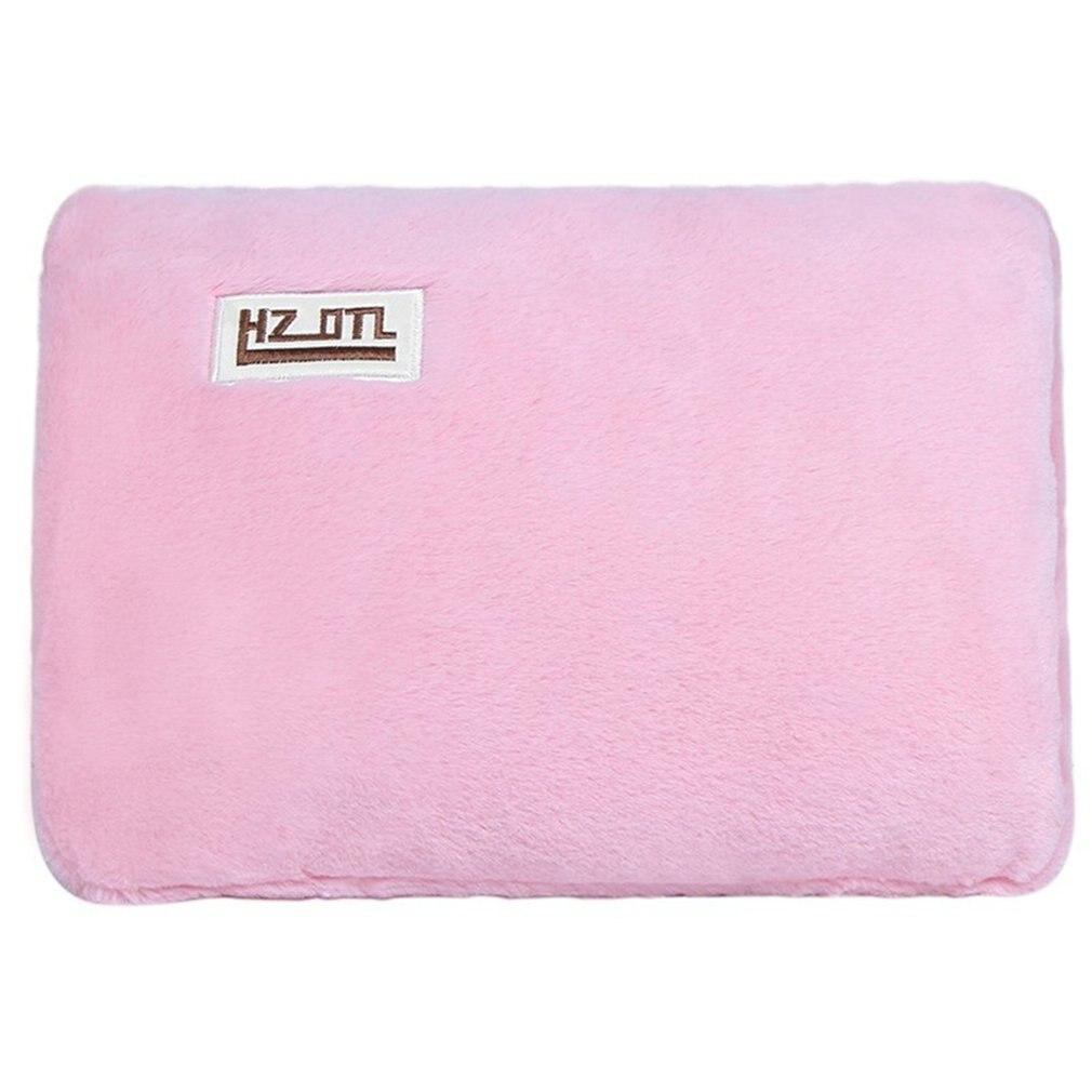 Bouillotte en peluche Rechargeable Simple chauffe-mains amovible lavable ventre chaud trésor chaud sac d'eau chaude