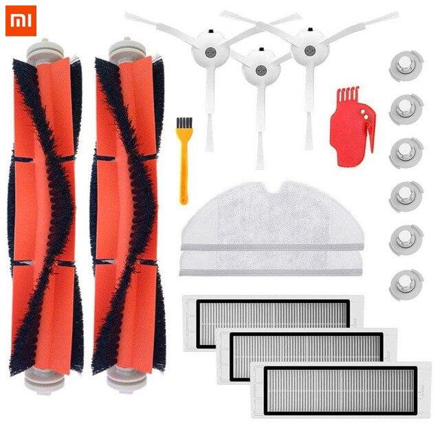 18 Piezas De Aspiradora Xiaomi Piezas De Repuesto Para Xiaomi Mi Robot Roborock S50 S51 Roborock 2 Kit De Accesorios De Aspiradora No Planchado