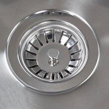 ФИЛЬТР-пробка для кухонной раковины из нержавеющей стали, канализационная пробка для раковины, фильтр для ванной комнаты, аксессуары для умывальника