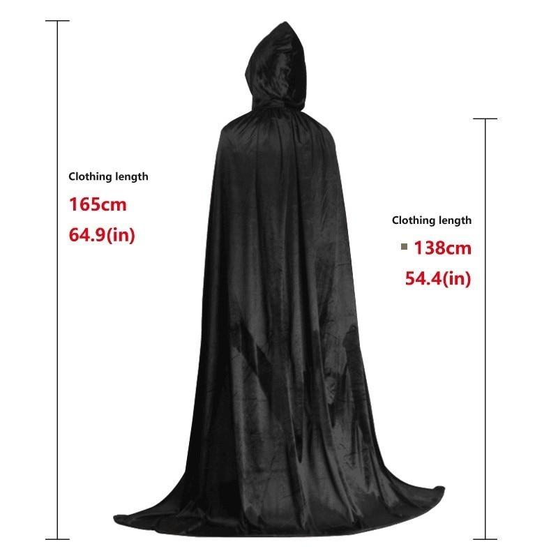 VAMPIRE CAPE Red//Purple//Black MENS LADIES Size  Halloween Fancy Dress Accessory