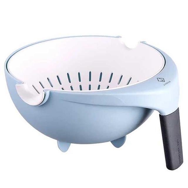 2019 高品質のファッション 2 個二重排水バスケットボウル洗濯キッチンストレーナー麺野菜フルーツギフト