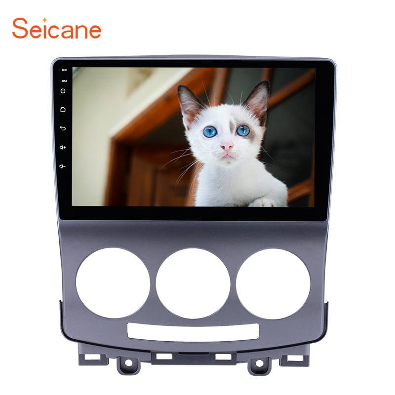 Seicane Car Multimedia Palyer For 2005 2010 Old Mazda 5 9 Inch Android 7.1/8.1 Bluetooth Wifi HD 1024*600 Touchscreen Car Radio