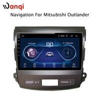 9 дюймов Android 8,1 полный сенсорный экран автомобиля мультимедийная система для Mitsubishi Outlander 2012 2006 Автомобильный gps Радио Навигация