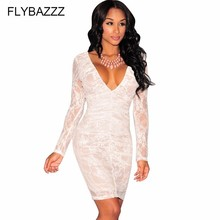 Womens Sexy V Neck Lace Crochet Beach Dress Fashion Backless Bodycon Beach Cover Up Hollow Out Party Mini Pencil Dress Vestidos summer gold black sequin dress women 2018 new backless halter hollow out sundress sexy club bodycon mini party dresses vestidos
