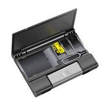 Коробка для карт большой емкости Kawau + Type-c USB 3.0 Устройство чтения карт Micro USB + кнопка Лучший!