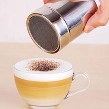 Многофункциональный нержавеющая сталь шейкер для кофе и шоколада какао мука соль порошок глазурь сахар капучино Кофе Сито крышка инструменты для приготовления пищи