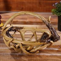 Willow Basket Bag Straw Hand Tote Handle Beach Straw Basket Food Container for Eggs Fruits Candies Bread Lunch Holder Box