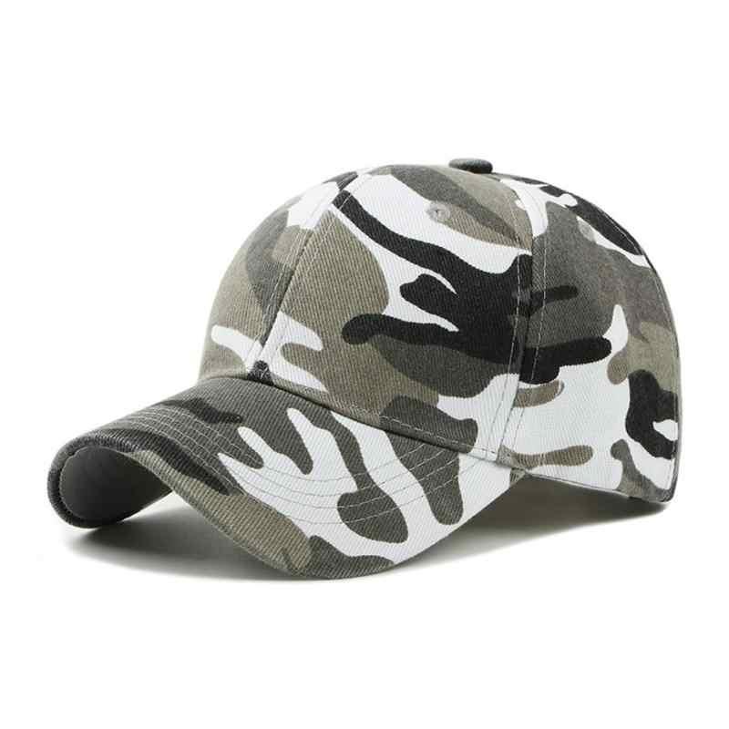 Los hombres de impresión de camuflaje de pesca tapas Hunter al aire libre  Camo gorra sombrero d72d0206a86