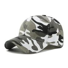 Los hombres de impresión de camuflaje de pesca tapas Hunter al aire libre  Camo gorra sombrero escalada caza desierto sombreros b705bd5cd71