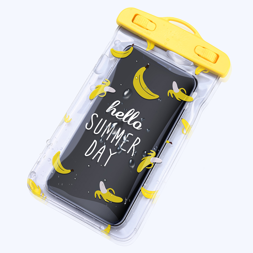 KISSCASE Universal Waterproof Bag Case for iPhone Xiaomi Mobile phone water proof pouch under cover