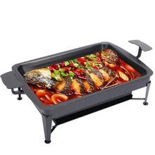 Bbq Grelha Para Parrilla Portatil Carbon Charcoal Churrasqueira Churrasco Grill For Outdoor Kebab Seafood Fish Barbecue Plate
