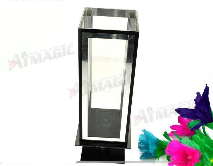 Boîte de clarté à fleur, magie des fleurs, petite boîte à lunettes, tours de magie de scène, kits de magicien, magie de gimmick, illusions de scène magique