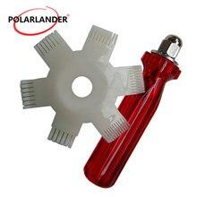 Высокое качество для автомобиля инструмент для кондиционера A/C AC радиатор конденсатор испаритель ребра выпрямитель гребень для змеевика