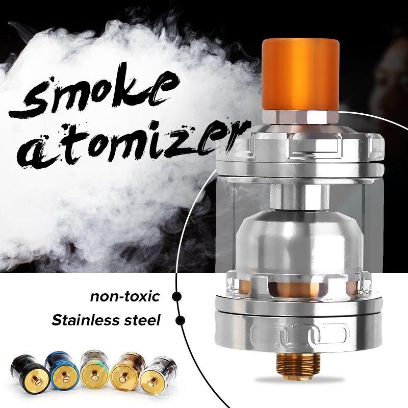 Hohe qualität 3 ml 24mm Elektronische Zigarette Zerstäuber 510 Gewinde Für Advken MANTA RTA 2 Neue Design Standard Zerstäuber tank