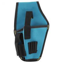 Портативный держатель Аккумуляторная дрель чехол для 12 v дрель поясная сумка для инструментов талии сумка для хранения инструментов(без ремня) Лидер продаж