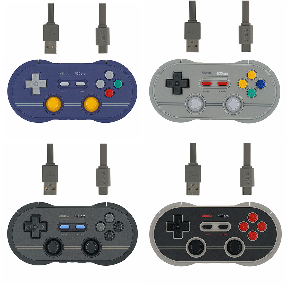 8Bitdo N30 Pro 2 for Bluetooth Gamepad For Windows Android macOS Steam For Nintend Switch Console