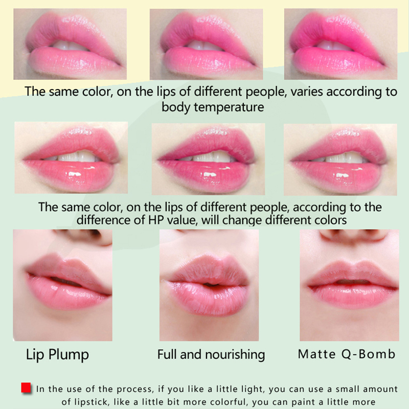 Lip Balm Color Changing Moisturizing Long Lasting Lipstick For Party Daily Use 2