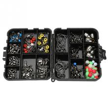 160pcs/box Fishing Fishing Tackle Set Fishing Accessories Kit Include