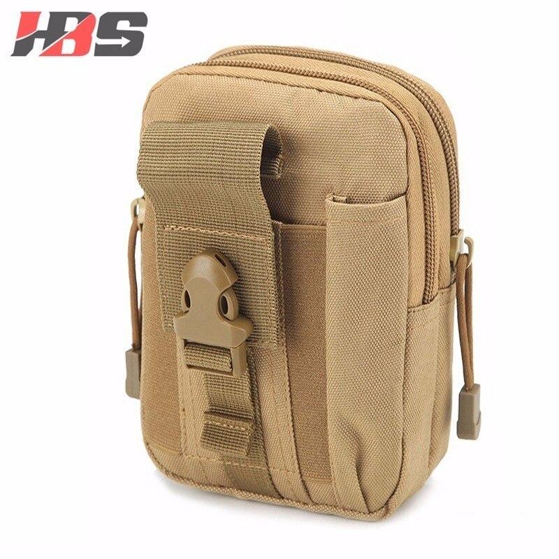 afb95f8e344 Caja del teléfono para HTC uno M7 M8 M9 M10 Universal táctico militar funda  de cinturón de cadera bolsa de cintura teléfono bolsas de deporte